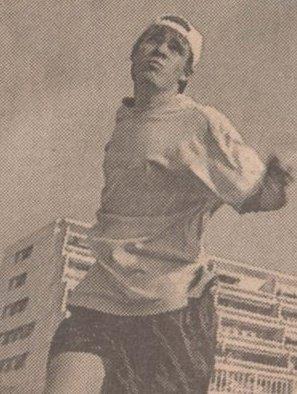 en ung og håpefull Ballo på turnering