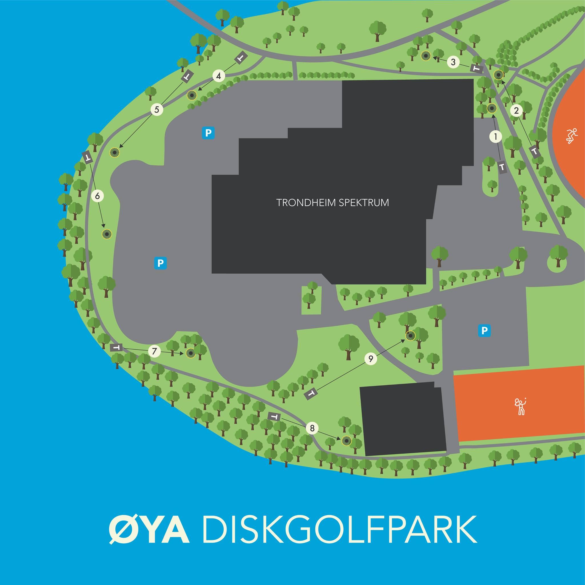 Øya Diskgolfpark